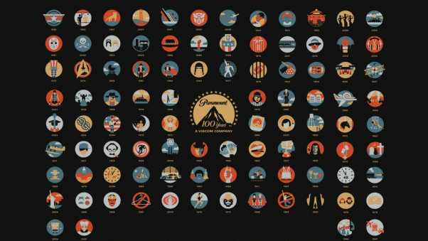 movies, 100 years anniversary, logos