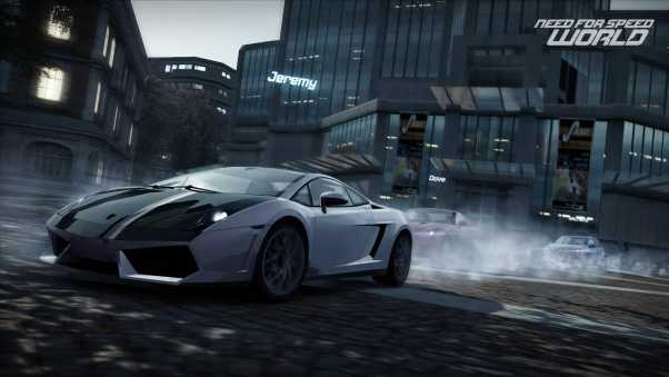 need for speed world, machine building, road