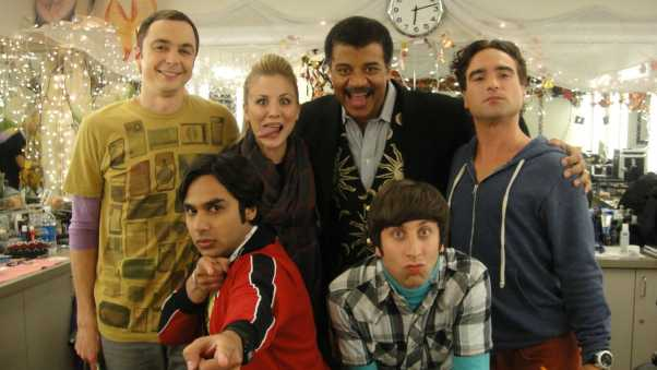 neil degrasse tyson, the big bang theory, main characters