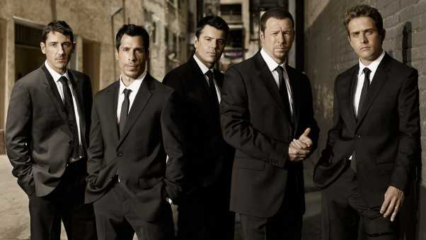 new kids on the block, suits, street