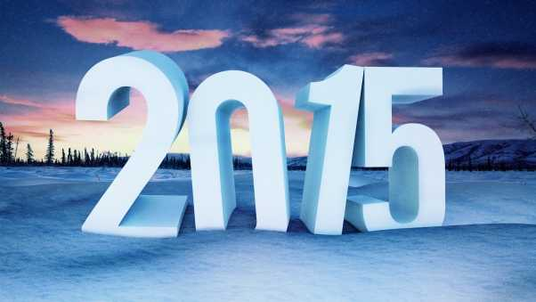 new year, 2015, snow