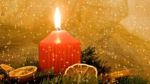 new year, christmas, candle