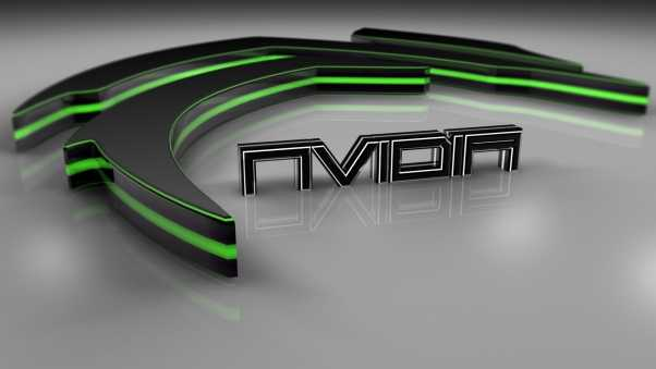 nvidia, green, firm