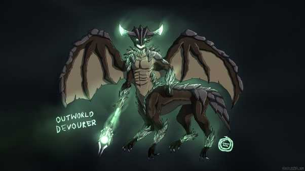 outworld devourer, dota 2, art