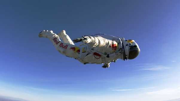 paratrooper, red bull, jumping