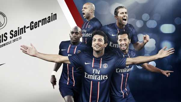 paris saint germain, footballers, team