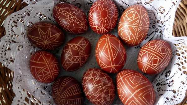 pascha, eggs, ornaments