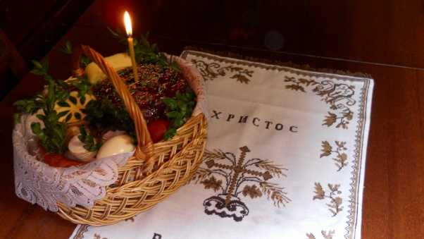 pascha, holiday, basket