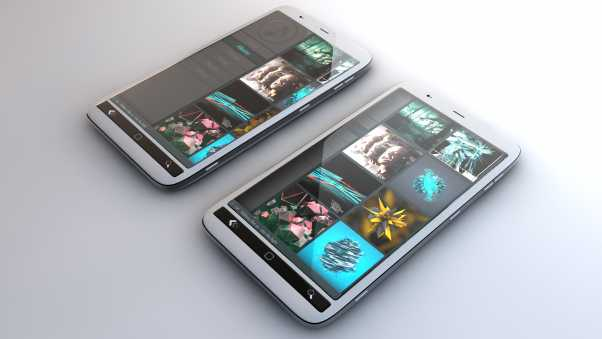 phones, touch screen, icons