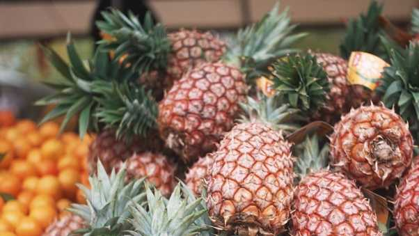 pineapple, delicious, fruit