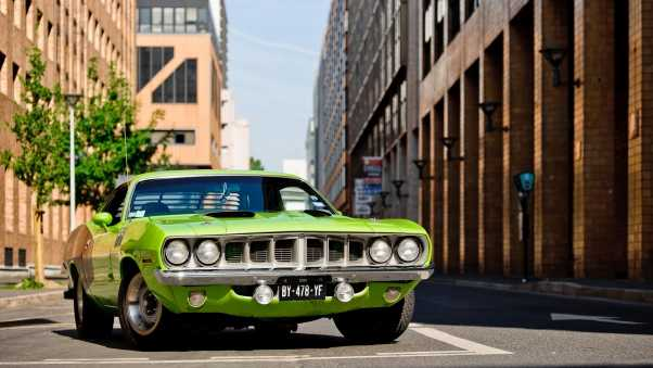 plymouth, barracuda, 1971