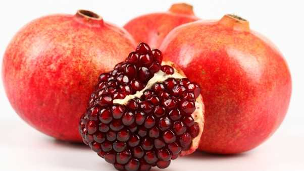 pomegranate, berries, fruit