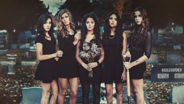 pretty little liars, girl, series