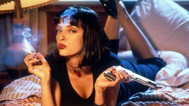 pulp fiction, girl, mia wallace