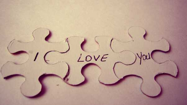 puzzle, love, make up