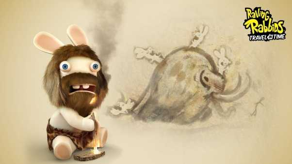 raving rabbids travel in time, beard, rabbit