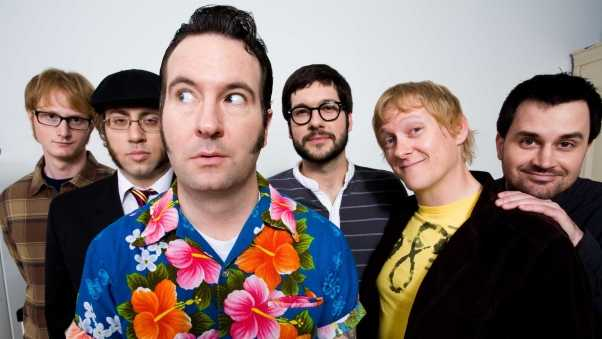reel big fish, faces, glasses