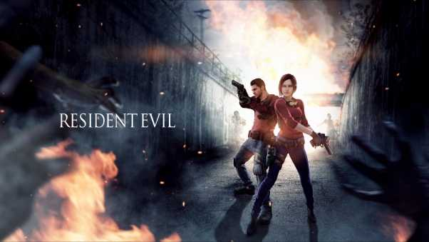 resident evil, claire redfield, chris redfield