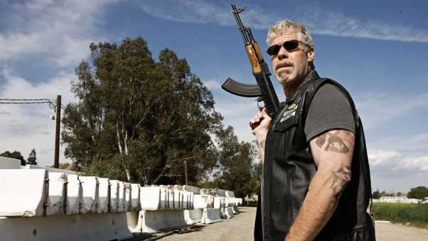 ron perlman, sons of anarchy, biker