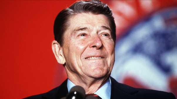 ronald reagan, california, president