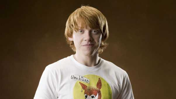 rupert grint, red-haired, actor