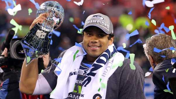 russell wilson, super bowl, victory
