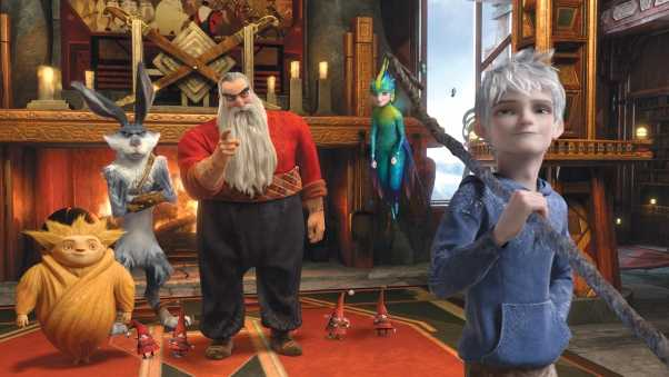 santa claus, rise of the guardians, ice jack