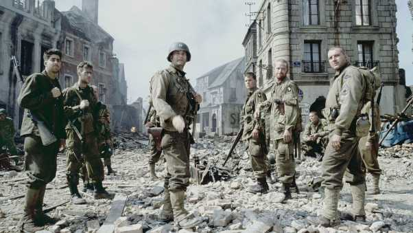 saving private ryan, soldiers, tom hanks