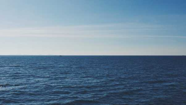 sea, horizon, sky