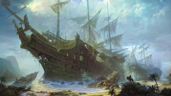 ships, old, wreckage