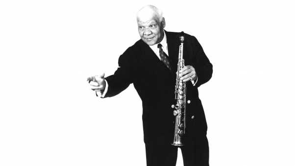 sidney bechet, old, grey-haired