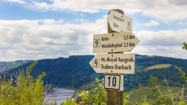signs, germany, pole
