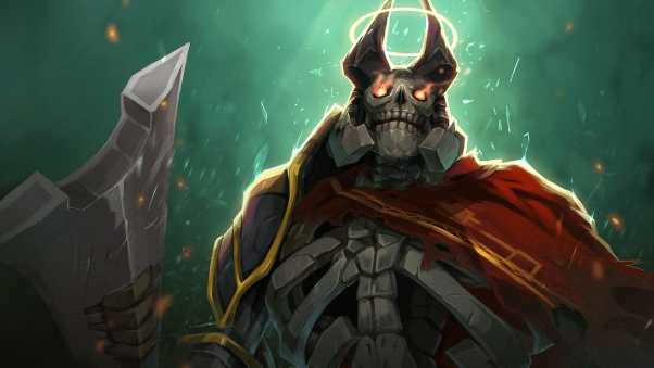 skeleton king, dota 2, art