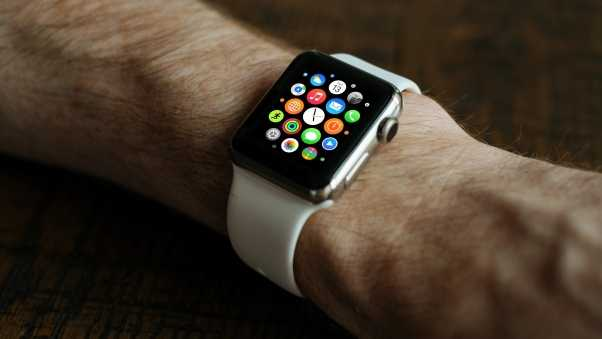 smartwatch, apple, wristwatch