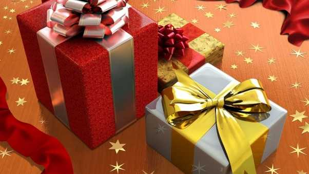 star, gifts, holiday