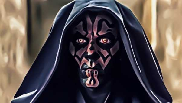 star wars, darth maul, art