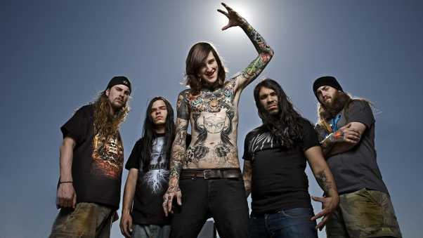 suicide silence, tattoo, rockers