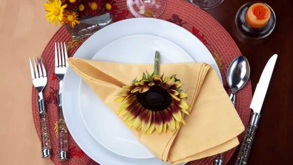 table, decoration, fall