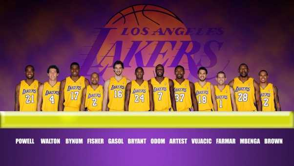 team, players, lakers