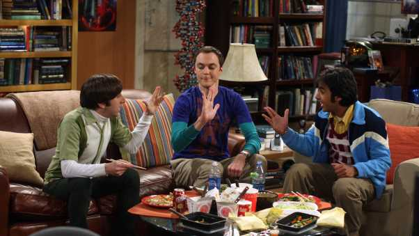 the big bang theory, sheldon cooper, howard wolowitz