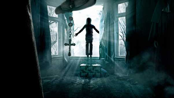 the conjuring, horror, window