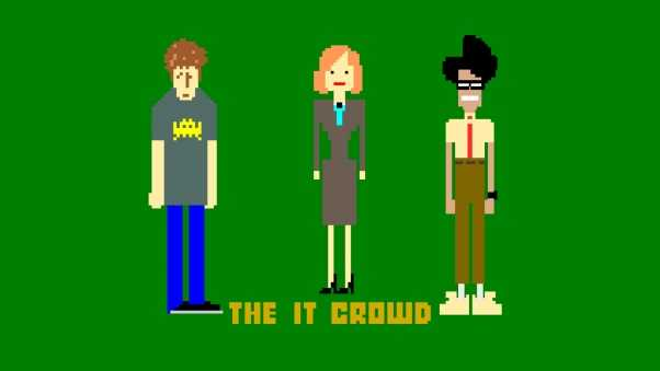 the it crowd, roy trenneman, maurice moss