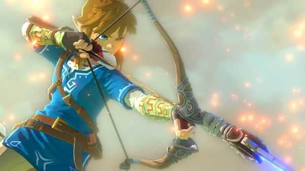 the legend of zelda u, adventure, archer