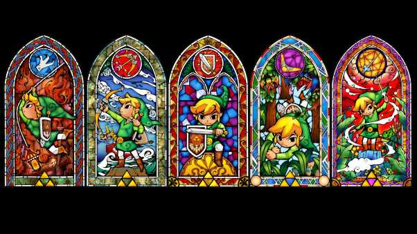 the legend of zelda, windows, elf