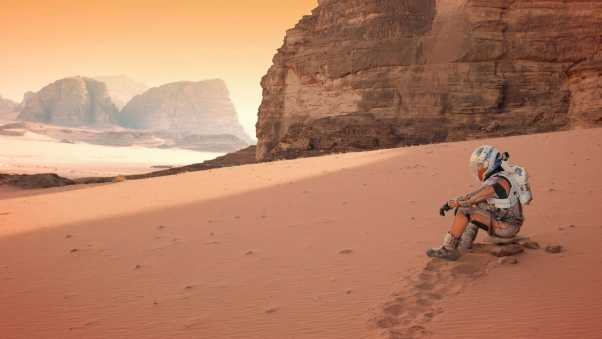 the martian, matt damon, desert