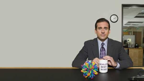 the office, tv series, steve carell