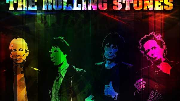the rolling stones, graphics, band