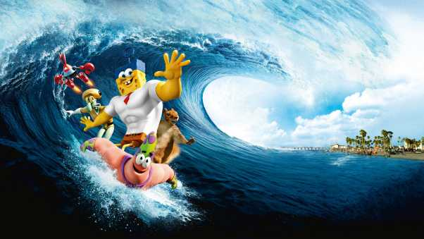 the spongebob movie sponge out of water, the spongebob movie, art