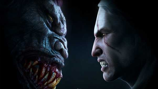 the witcher, faces, monster
