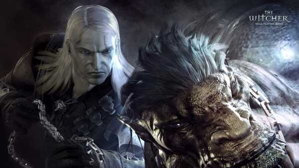 the witcher, warrior, monster